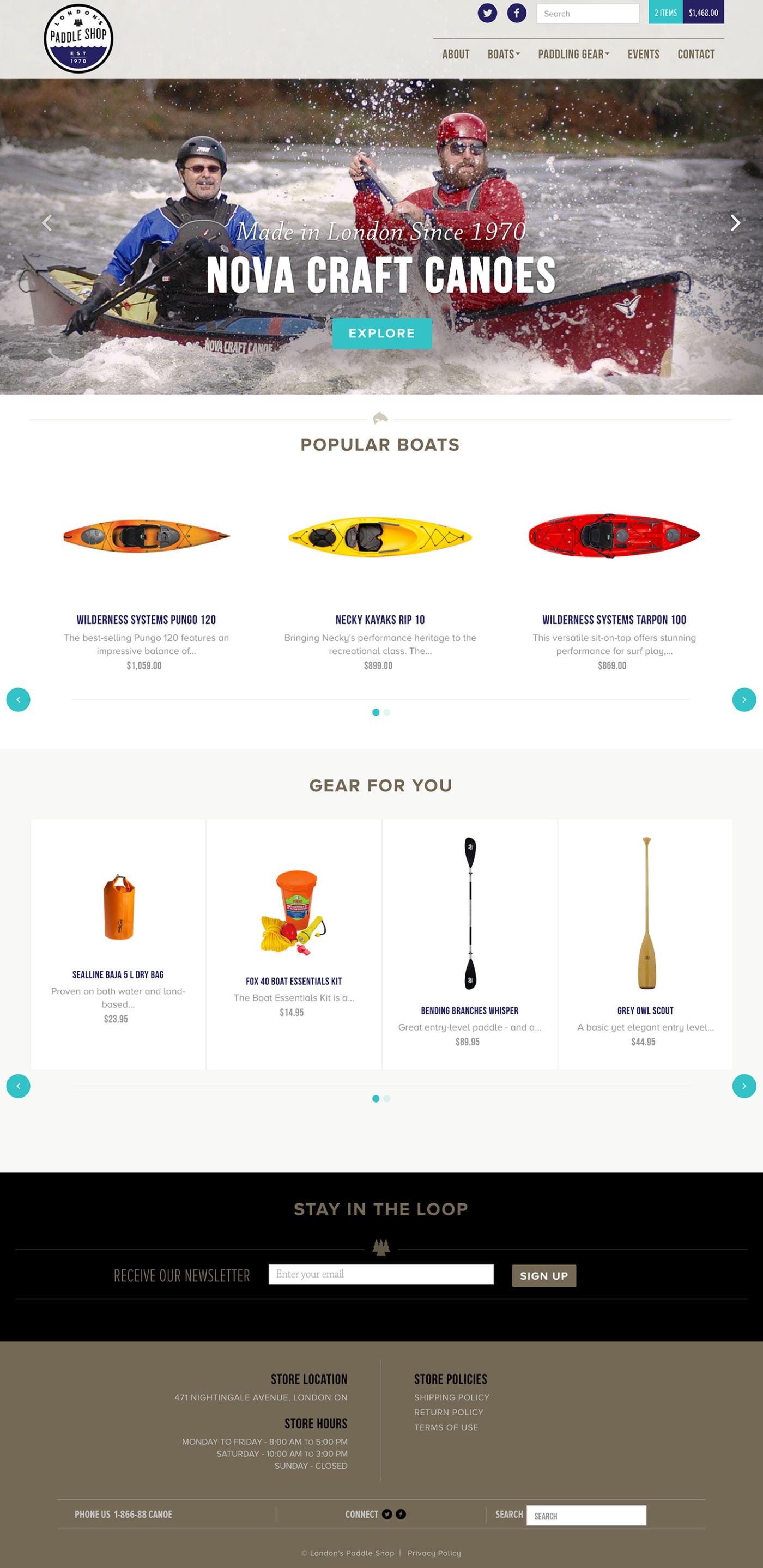 London's Paddle Shop